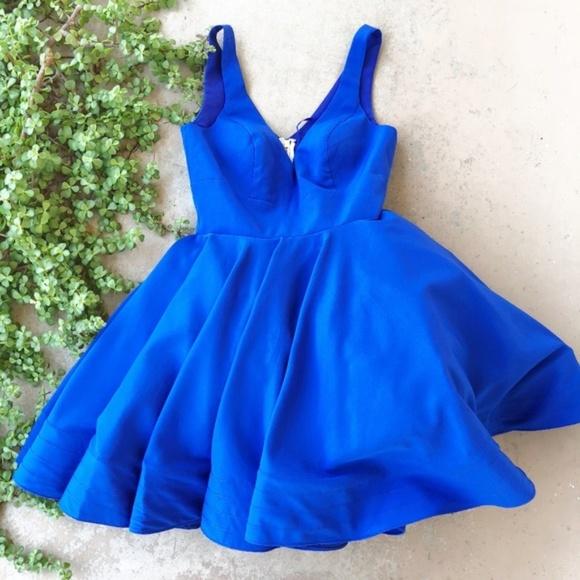 719dda0ad260 Mac Duggal Dresses & Skirts - Ieena Mac Duggal Royal Blue Fit & Flare Dress